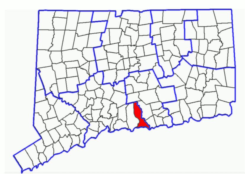 Maps Madison CT - Ct maps