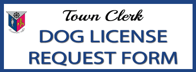 dog license request form