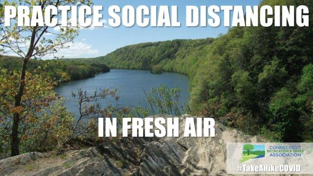 Practice Social Distancing in fresh air