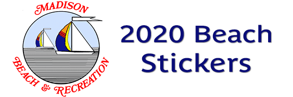 2020 Beach Stickers