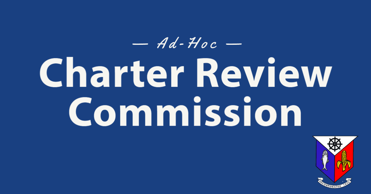 Ad hoc charter review commission