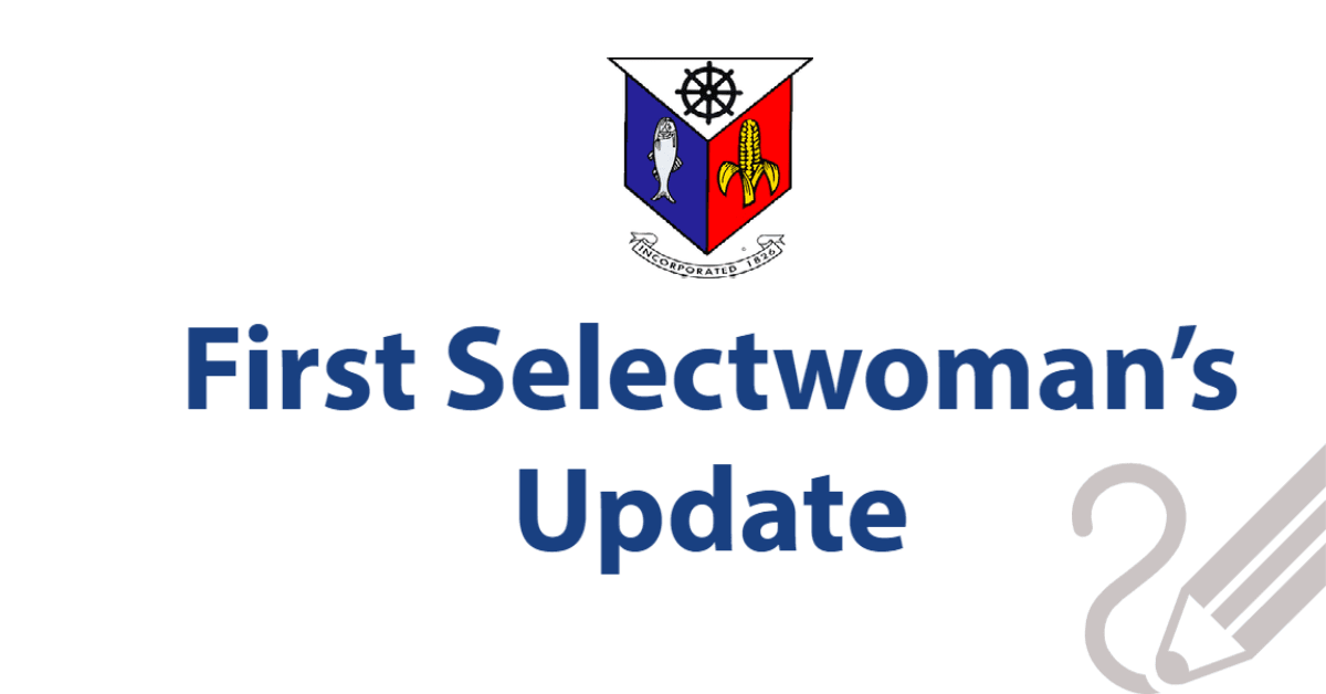 First Selectwomans Update