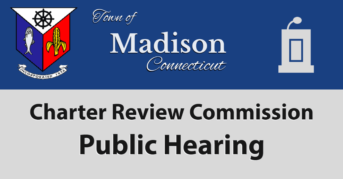 Charter Review Commission Public Hearing