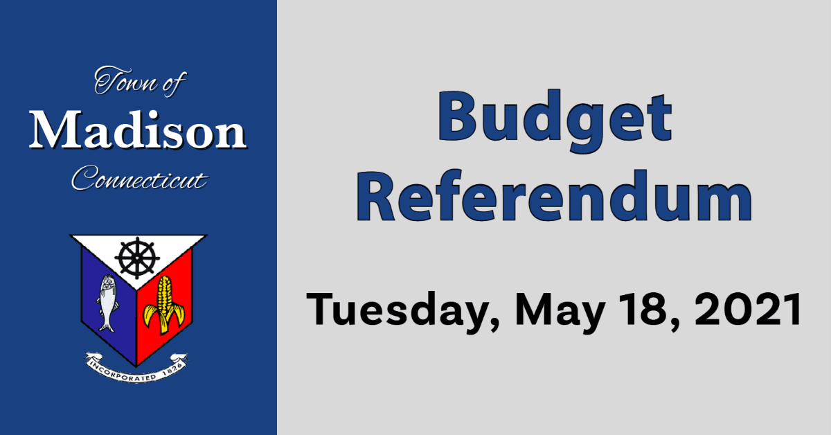 Budget Referendum Tuesday May 18 2021
