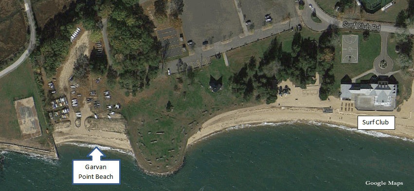 Satellite Image of Garvan Point